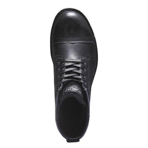 Stivaletti bata, nero, 891-6639 - 19