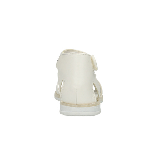 Sandali per bambina mini-b, bianco, 261-1160 - 17