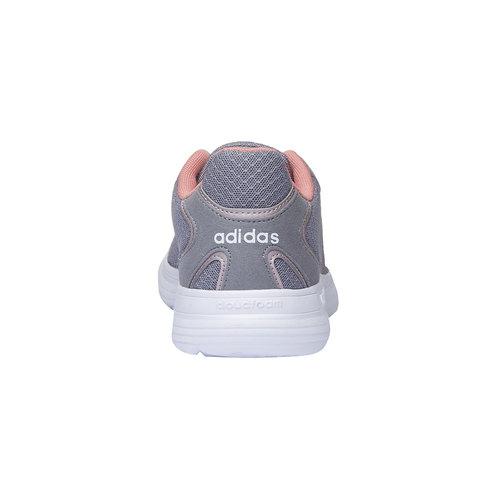 Sneakers da donna alla moda adidas, grigio, 509-2283 - 17