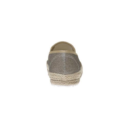 Slip-on dorate da donna bata, marrone, 559-3107 - 17