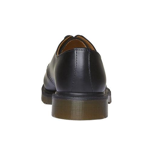 Scarpe basse di pelle con suola appariscente dr-martens, nero, 524-6250 - 17