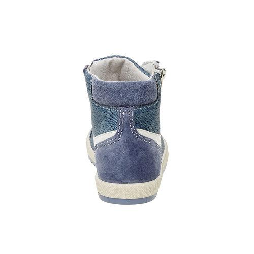 Sneakers da bambino alla caviglia flexible, blu, 311-9194 - 17