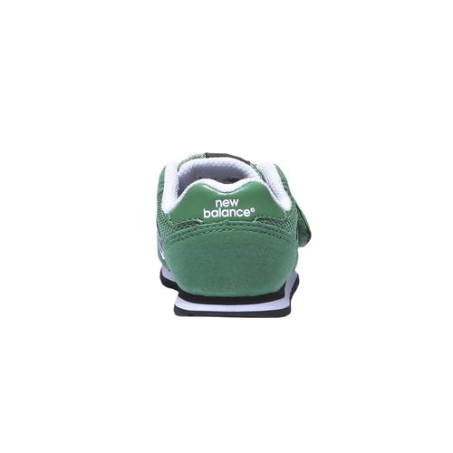 Sneakers da bambino alla moda new-balance, verde, 109-7373 - 17