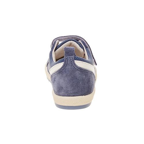 Sneakers da bambino con perforazioni flexible, blu, 311-9217 - 17