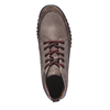 Sneakers in pelle informali bata, marrone, 896-4195 - 19