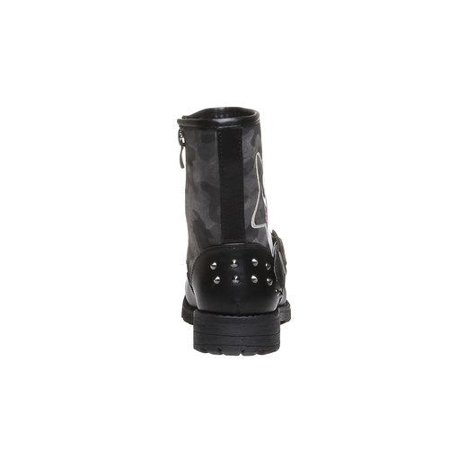 Boot  violetta, nero, 391-6162 - 17