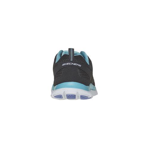 Sneakers sportive da donna skechers, nero, 509-6556 - 17