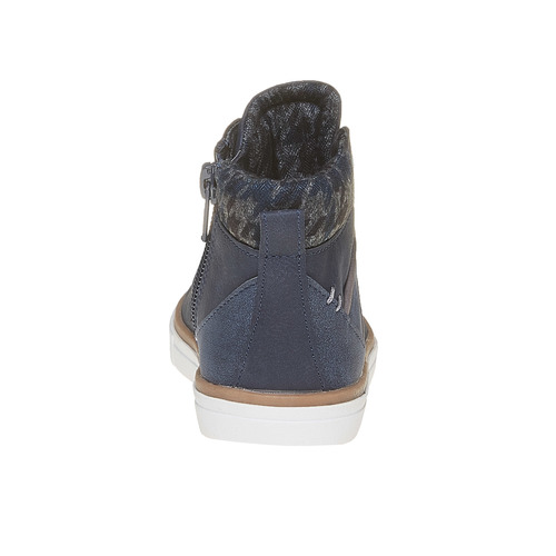 Sneakers da bambino alla caviglia mini-b, blu, 211-9169 - 17