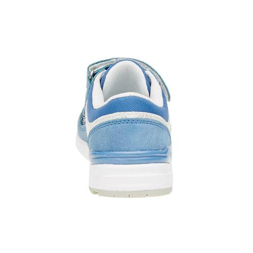 Sneakers da bambino con glitter mini-b, viola, 221-9150 - 17