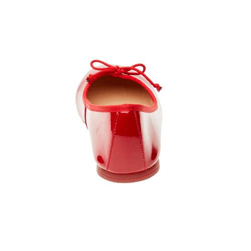 Ballerine rosse bata, rosso, 521-5144 - 17