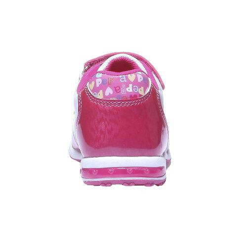Sneakers da bambina peppa-pig, rosso, 221-5134 - 17