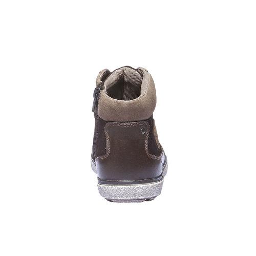 Scarpe bambini mini-b, marrone, 313-4178 - 17