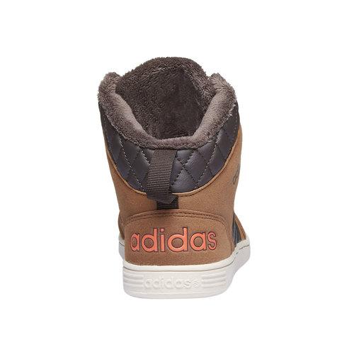 Sneakers alla caviglia con fodera calda adidas, giallo, 401-8191 - 17