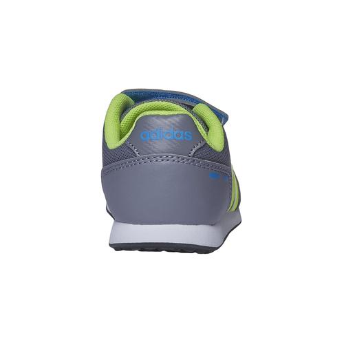 Sneakers da bambino con chiusure a velcro adidas, grigio, 109-2165 - 17