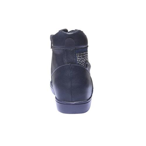 Sneakers alla caviglia con strass north-star, viola, 541-9118 - 17
