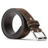 Cintura di pelle da uomo bata, marrone, 953-4106 - 26
