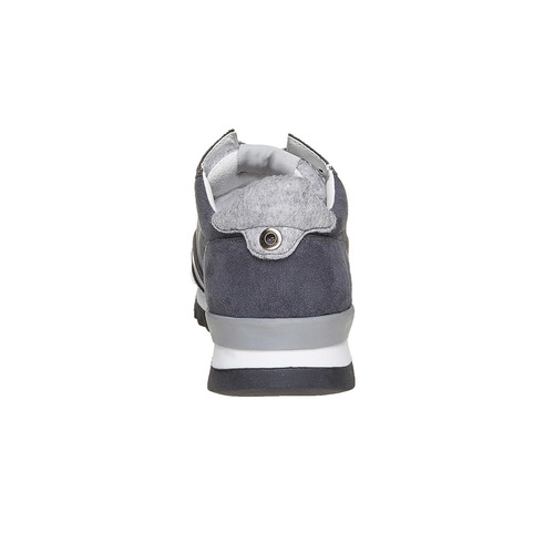 Sneakers da uomo con suola appariscente north-star, grigio, 849-2500 - 17