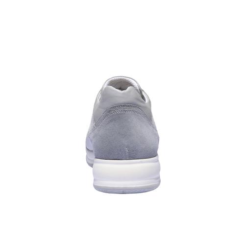 Sneakers per il tempo libero bata, grigio, 849-2144 - 17
