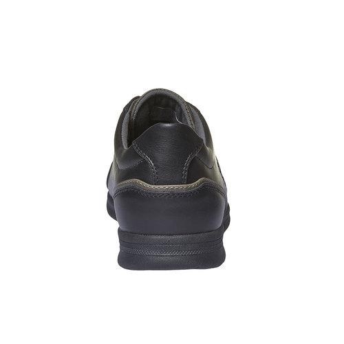 Sneakers di pelle levis, nero, 841-6263 - 17