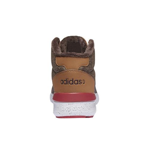 Sneakers alla caviglia con fodera calda adidas, giallo, 809-8128 - 17