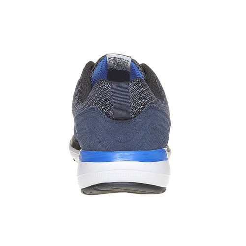 Sneakers sportive di colore blu lotto, blu, 809-9152 - 17