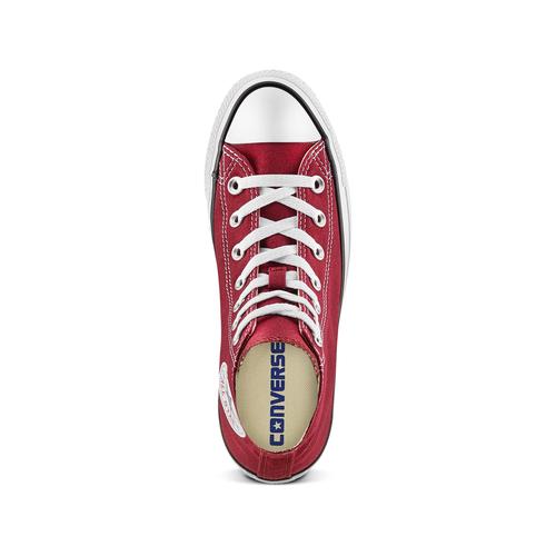 Sneakers da donna alla caviglia converse, rosso, 589-5278 - 17