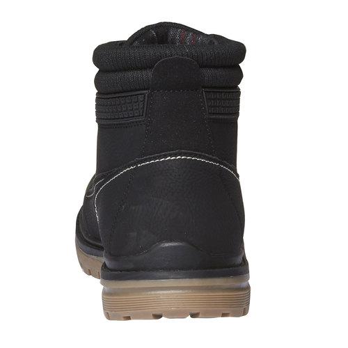 Scarpe alla caviglia con suola appariscente bata, nero, 891-6438 - 17