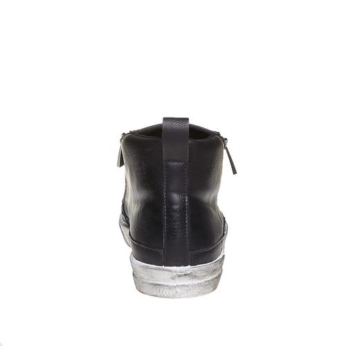Loafer da uomo alla caviglia north-star, nero, 841-6684 - 17