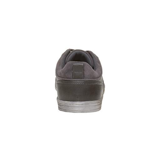 Sneakers informali da uomo bata, grigio, 841-2404 - 17