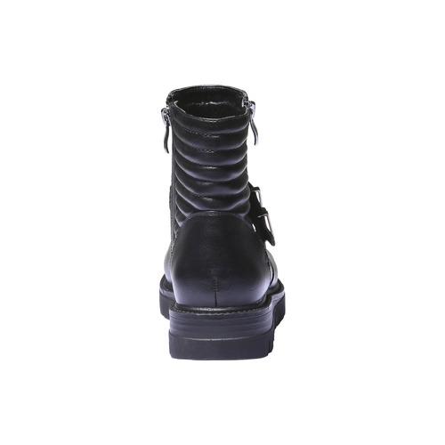 Scarpe alla caviglia dal design originale bata, nero, 691-6154 - 17