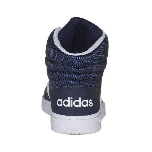 Sneakers da uomo alla caviglia adidas, viola, 801-9140 - 17