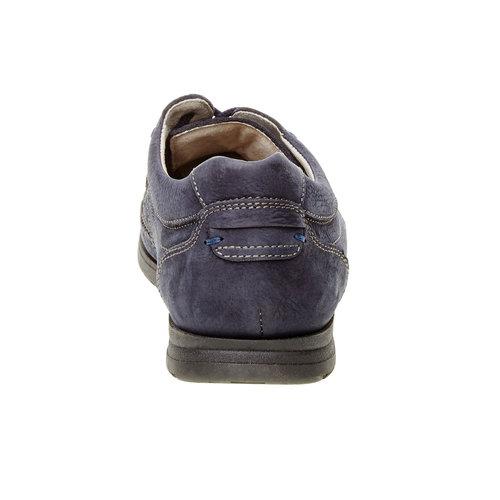 Scarpe basse informali di pelle bata-comfit, viola, 856-9183 - 17