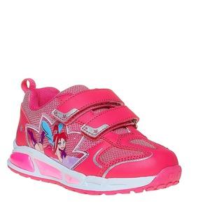Sneakers rosa da ragazza con fata mini-b, rosa, 221-5177 - 13