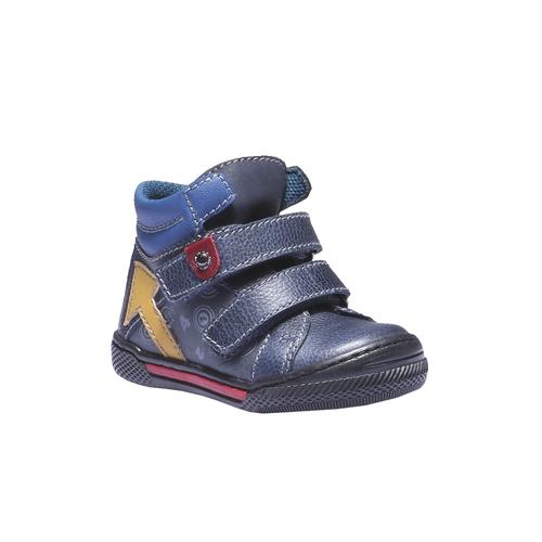 Sneakers da bambino in pelle mini-b, viola, 114-9134 - 13