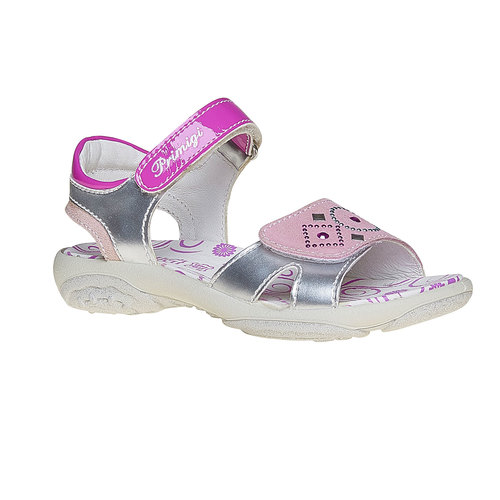 Sandali rosa per bambina primigi, rosa, 261-5152 - 13