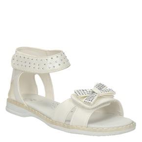 Sandali per bambina mini-b, bianco, 261-1160 - 13