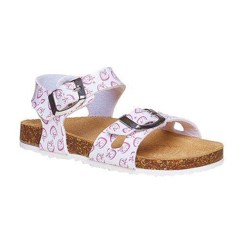 sandalo bimba mini-b, bianco, 261-1172 - 13