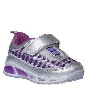 Sneakers metallizzate da bambino mini-b, bianco, 221-1119 - 13