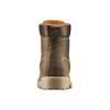 Scarpe in pelle con suola a carro armato weinbrenner, marrone, 894-4820 - 16