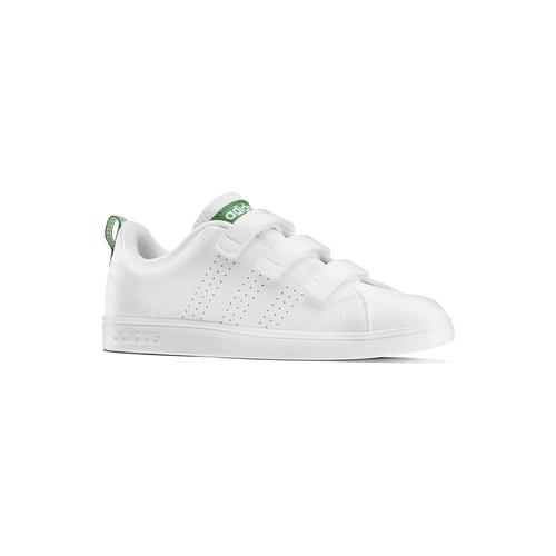 Sneakers bianche da bambino con chiusure a velcro adidas, bianco, 301-1168 - 13