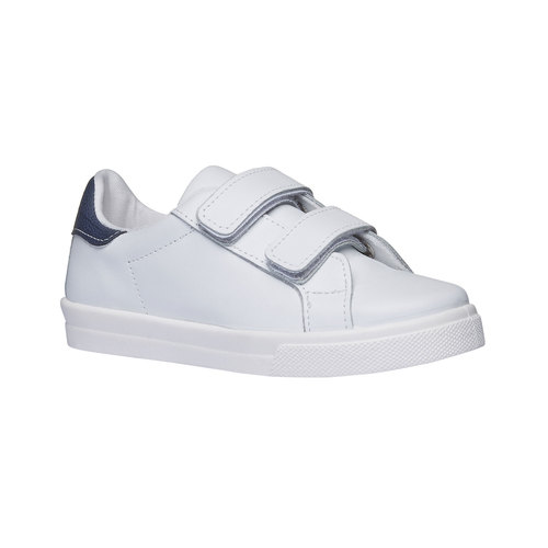 Sneakers da bambino in pelle north-star-junior, bianco, 314-1222 - 13