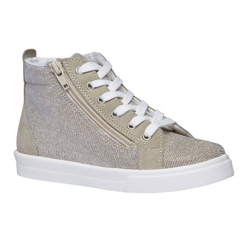 Sneakers alla caviglia con riflessi metallici north-star-junior, marrone, 329-3195 - 13