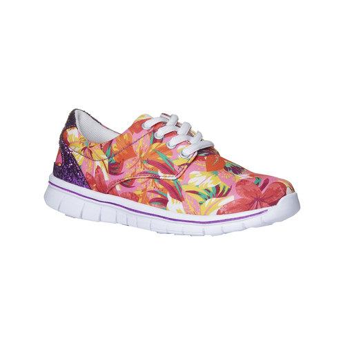 Sneakers con motivo floreale mini-b, rosa, 329-0200 - 13