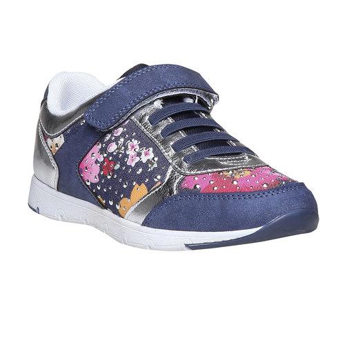 Sneakers da bambino con fiorellini mini-b, viola, 329-9174 - 13