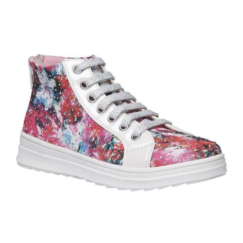 Sneakers alla caviglia con strass mini-b, 329-0184 - 13