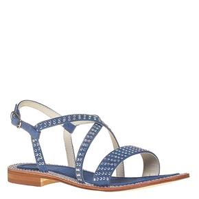 Sandali con strass mini-b, blu, 369-9169 - 13