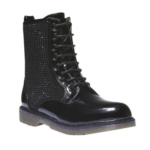 Scarpe alla caviglia con suola massiccia mini-b, nero, 391-6147 - 13
