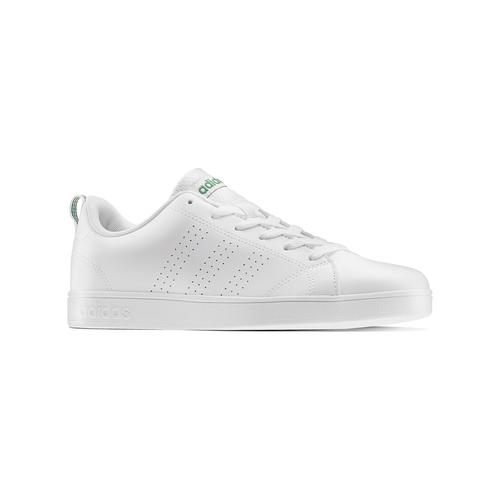 Sneakers bianche da bambino adidas, bianco, verde, 401-1233 - 13