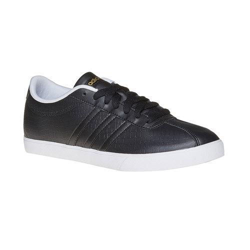 Sneakers da donna con effetto pelle di coccodrillo adidas, nero, 501-6198 - 13