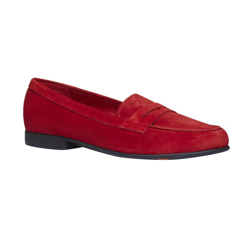 Penny Loafer di pelle flexible, rosso, 513-5196 - 13